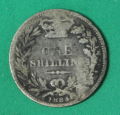 Great Britain, One Shilling 1884