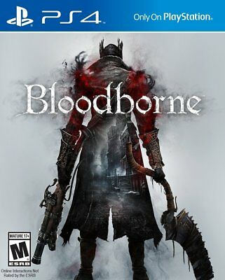 Bloodborne - PS4 IMPORT neuf sous blister