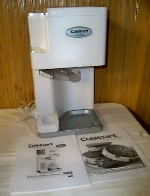 (W) Cuisinart ICE-45 Soft Serve Ice Cream Maker  EUC