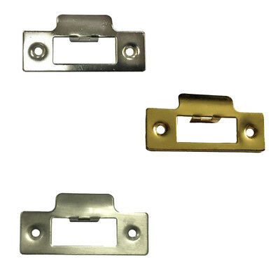 Strike Plate Short Square for Tubular Mortice Sash Door Locks or Latches
