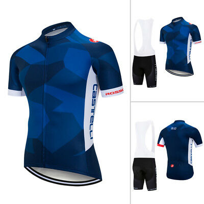 Mens 2018 Bike Team Clothing Cycling Jersey Bib Shorts Kits Shirt Pants Outfits