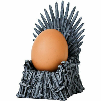 "Neu Eierbecher ""Egg of Thrones"" 8317475 grau"