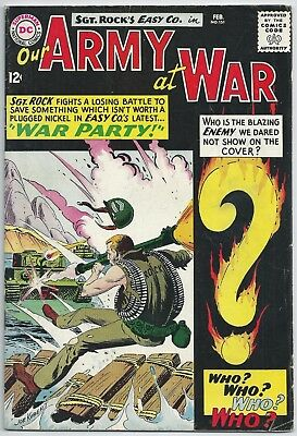 **our Army At War #151**(Feb 1965, Dc)**1St App Of Enemy Ace**silver Age Key**vg