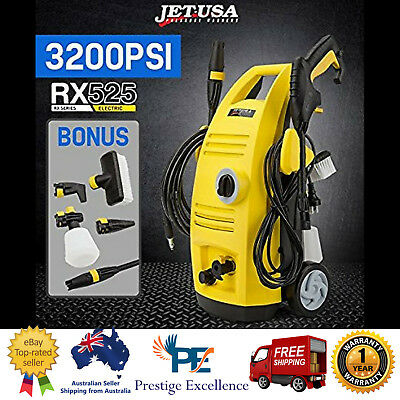 High Pressure Washer Cleaner 3200PSI Electric Water Blaster Hose Pump Gun RX525