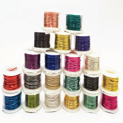 Silver Plated Copper Jewelry Craft Wire 18-34 Gauge & 5-200 Ft Length