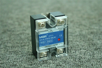 1Pcs 10A Solid State Relay SSR Input 3-32V/DC Output 24-480V/AC 50/60H