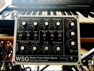 DRONE SYNTHESIZERS WEIRD sound generator