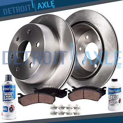 Front Brake Rotors and Ceramic Pads For 2006 2007 2008 2009 2010 2011 RIDGELINE