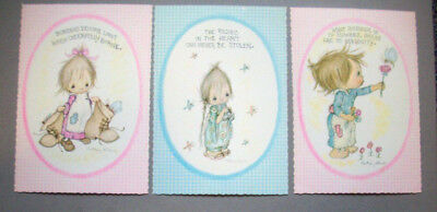 3 Betsey Clark large format postcards from Hallmark