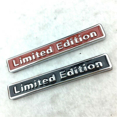 3D Metal Limited Edition Auto Car Sticker Badge Decal Motorcycle Stickers Chrome