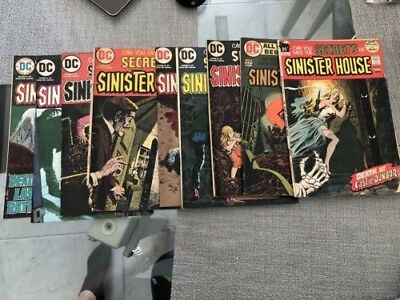 Comic Books - DC Comics Collectible Lot (Secrets of Sinister House)