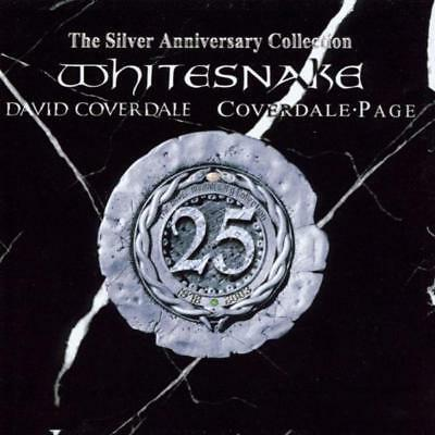 Whitesnake - The Silver Anniversary Collection CD (2) Parlophone NEW