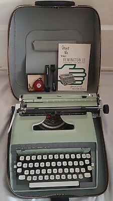 1963 Vintage Remington 11 Remington Rand Typewriter *Near Mint* Rare