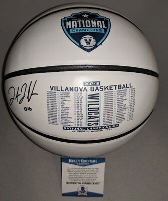 447cba6abaa VILLANOVA WILDCATS DONTE DIVINCENZO signed 2018 CHAMPS BASKETBALL BECKETT  COA