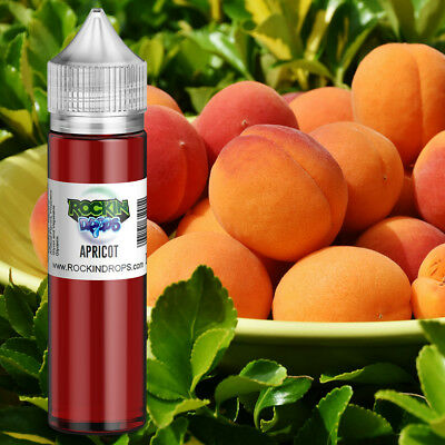 ROCKINDROPS Apricot Food Flavor Flavoring Concentrate TFA 10ml 30ml 50ml