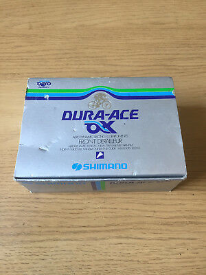 NOS Shimano Dura Ace AX Braze-On Front Derailleur, New In Box