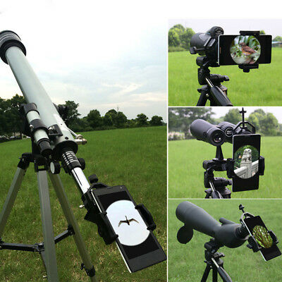 Universal Cell Phone Telescope Adapter Holder Mount Bracket Spotting Scope UK