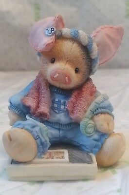 Enesco TLP This Little Piggy 1994 This little piggy had none scale work out pig