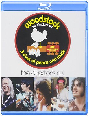 Woodstock the Director's Cut ~ Pre-Owned Blu-Ray 3 Discs ~