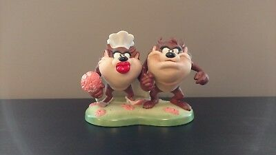 "Warner Bros Collectors Series ""I Do !"" Tasmanian Devil / She Devil porcelain"