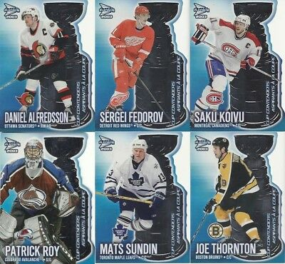 2002-03 Mcdonald's Pacific Cup Contenders Die-Cuts - Pick Finish Your Set Lot
