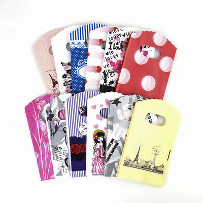 "500pcs Assorted Plastic Merchandise Bags Shopping Carrier Gift Pouches 5.5""x3.5"""