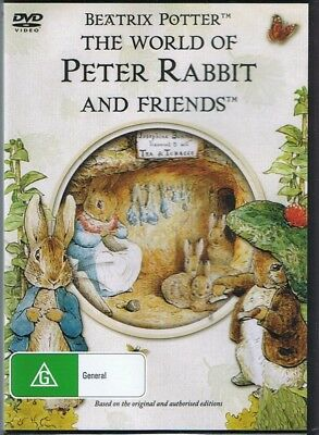 The World Of PETER RABBIT And Friends DVD NEW & SEALED Free Post Beatrix Potter