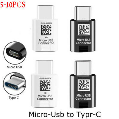 10X USB-C Type C Male to Micro USB Female Adapter Converter USB 3.1 for Samsung
