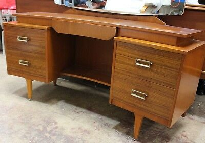 G PLAN Mid Century Dresser Dressing Table with Mirror - 250