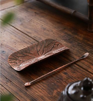 Tea Ceremony Tools Teaspoon Bronzer Color New In Box