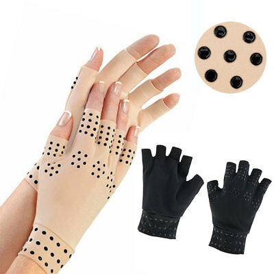 Breathable Gloves Anti Arthritis Hand Support Pain Relief Finger Compression New