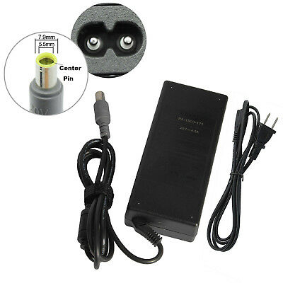 90W Adapter for Lenovo IBM Thinkpad T400 T500 Laptop Charger + Power Cord