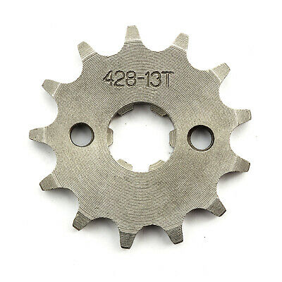17mm 428 Pit Dirt Bike 13T 13 Tooth Front Sprocket Pitbike 110cc 125cc 140cc 150