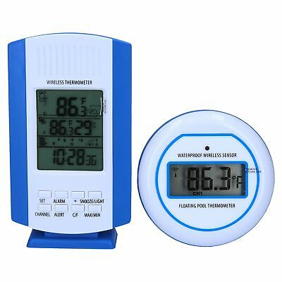 thermometer digital f r pool wasser wireless poolthermometer temperaturf hler eur 23 90. Black Bedroom Furniture Sets. Home Design Ideas
