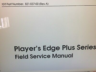 Igt - Players Edge Plus Manual Pdf