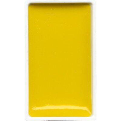 ZIG Kuretake Gansai Tambi Water colour single pan : Mid Yellow - No. 43
