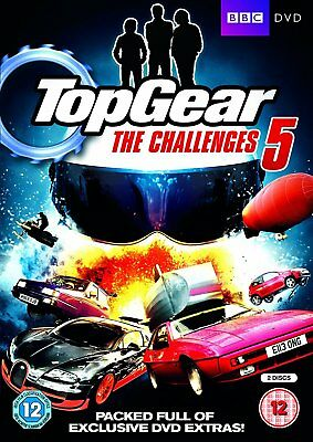 Top Gear - The Challenges 5 (DVD)