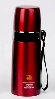 Keep Hot Coffee Water High Grade Vacuum Flask Stainless Steel Thermal Bottle Red