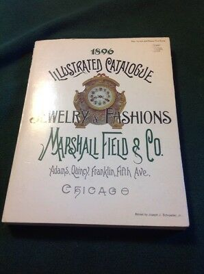 Marshall Field Jewelry & Fashions Illustrated 1896 Catalogue 1970