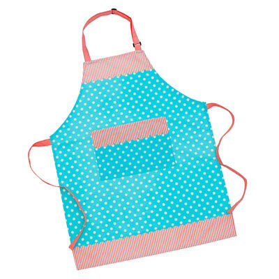 Cooksmart Cotton Apron with Pocket Cooking Baking KItchen Chef Blue