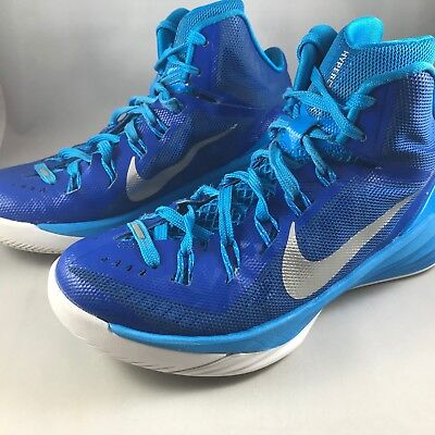 Nike Hyperdunk 2014 Blue And Teal Womens Size 6 Basketball Shoes