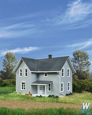 Walthers Cornerstone Tillman Farm House Kit 933-3789 HO Scale (suit OO also)