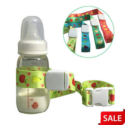 Baby Bottle Sippy Cup Holder Strap Leash Tether For Stroller High Chair Car Seat