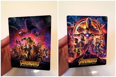 Avengers Infinity War Magnet cover with Flip effect for Steelbook