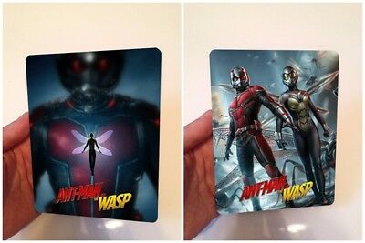 Ant-man and the Wasp Magnet cover with Flip effect for Steelbook