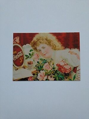 """1999 The Art of Coca Cola Collector Cards 24pt stock """"PROMO CARD #2"""""""