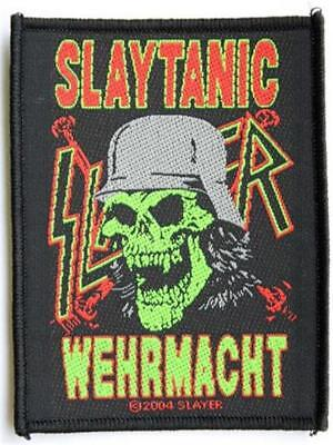 Official Licensed - Slayer - Wehrmacht Slaytanic Sew-On Patch Thrash Metal