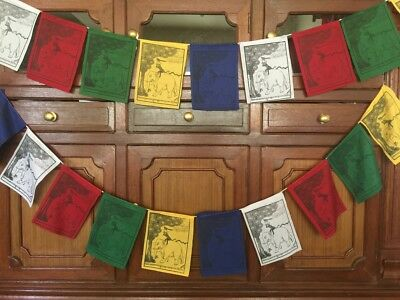 The Four Peaceful Friends Prayer Flags