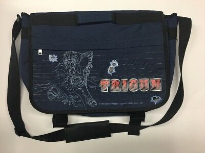"Trigun Anime 2003 Shoulder Carry Bag. 14x20"".  Yasuhiro Nightow. Excellent Cond."
