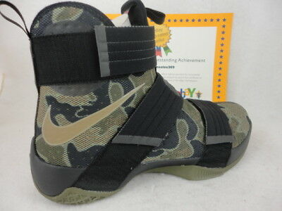 c69be61a4ae2 available 10a77 34a85 nike lebron soldier 10 x sfg camo mens black ...
